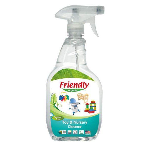 Friendly Organic Универсален почистващ препарат за играчки и аксесоари 650 мл. FR-00911